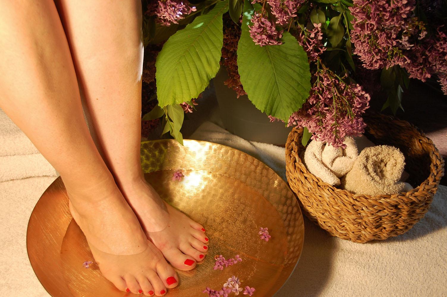 Klassische Fußmassage