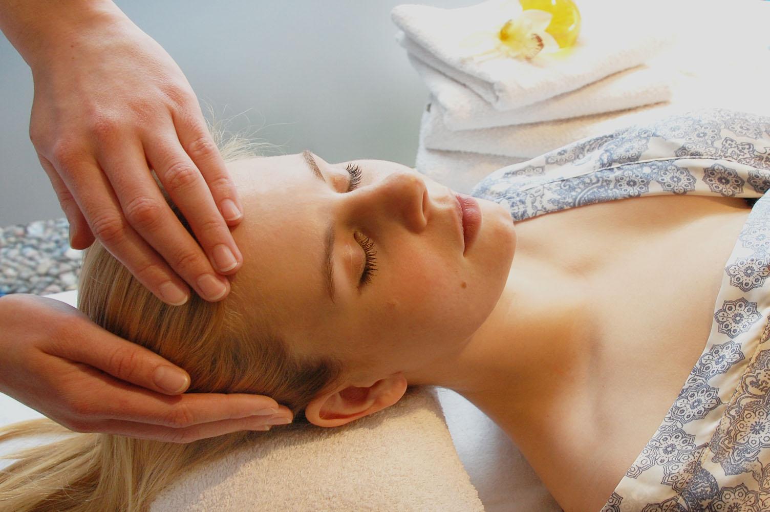 Spezial Migräne Kopfmassage